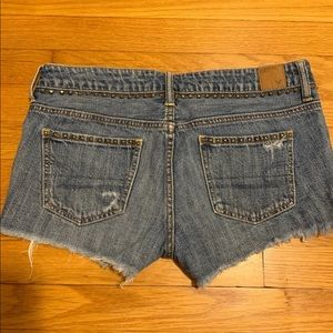 American Eagle Outfitters Shorts - American Eagle Studded Jean Shorts 4